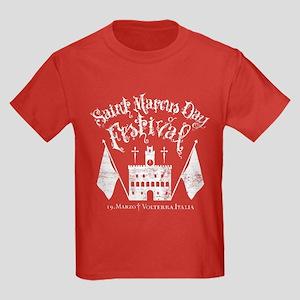 New Moon St. Marcus Day Festival Kids Dark T-Shirt