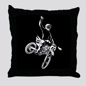 Motorodeo Throw Pillow