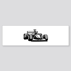Race car Bumper Sticker