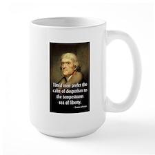 Jefferson Timid Men Large Mug