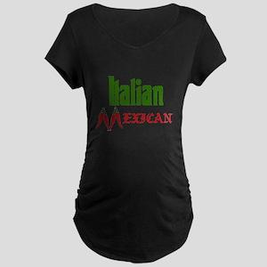 Italian Mexican Maternity Dark T-Shirt