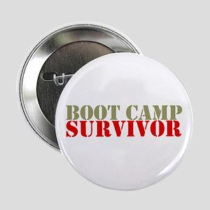 """Boot Camp Survivor"" 2.25"" Button ("