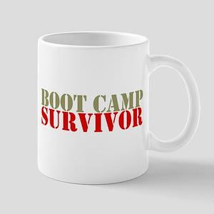 """Boot Camp Survivor"" Mug"