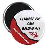 """Obama Approval Rating 2.25"""" Magnet (100 pack)"""