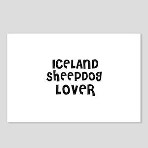 ICELAND SHEEPDOG LOVER Postcards (Package of 8)