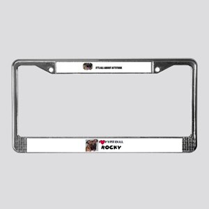 ITS ALL ABOUT ATTITUDE License Plate Frame