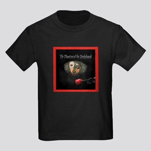 Phantom Doxie Kids Dark T-Shirt
