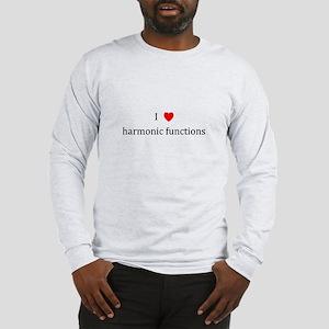 I Heart harmonic functions Long Sleeve T-Shirt