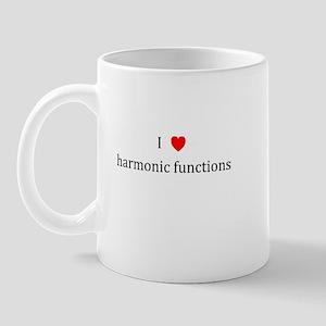 I Heart harmonic functions Mug