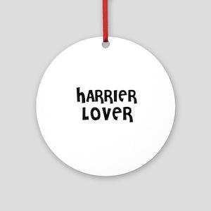 HARRIER LOVER Ornament (Round)