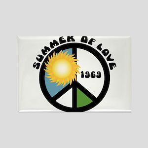 Summer of Love 69 Rectangle Magnet