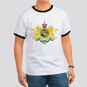 Iran Coat of Arms (Pahlavi Dy Ringer T