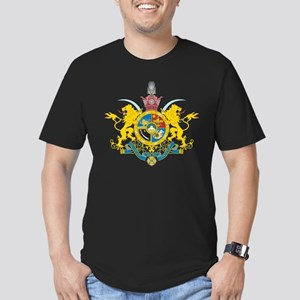 Iran Coat of Arms (Pahlavi Dy Men's Fitted T-Shirt