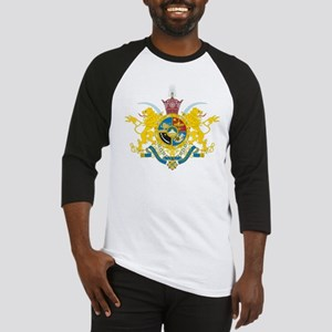 Iran Coat of Arms (Pahlavi Dy Baseball Jersey