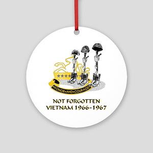 8th CAV. VIETNAM 1966-1967 Ornament (Round)