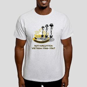 8th CAV. VIETNAM 1966-1967 Light T-Shirt