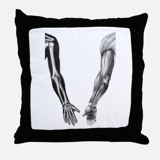 Arms - Throw Pillow