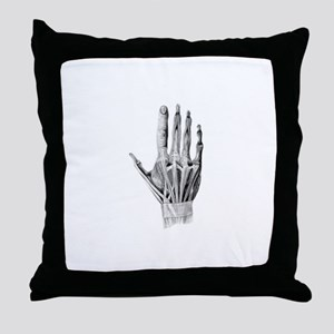 Hand Exposed - Throw Pillow
