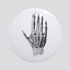 Hand Exposed - Ornament (Round)