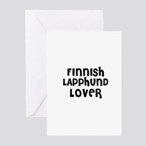 FINNISH LAPPHUND LOVER Greeting Cards (Package of