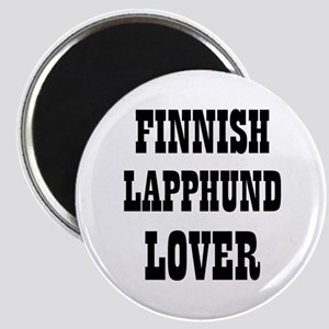 "FINNISH LAPPHUND LOVER 2.25"" Magnet (10 pack)"