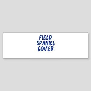 FIELD SPANIEL LOVER Bumper Sticker
