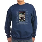 A Christmas Sampler Sweatshirt (dark)