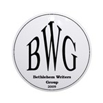 Bethlehem Writers Group BWG Ornament (Round)