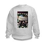 A Christmas Sampler w/Author Names Kids Sweatshirt