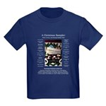 A Christmas Sampler Kids Dark T-Shirt
