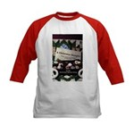 A Christmas Sampler w/Names Kids Baseball Jersey