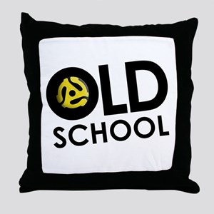 Retro 45 Throw Pillow
