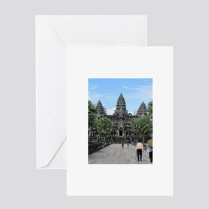 the city Greeting Card