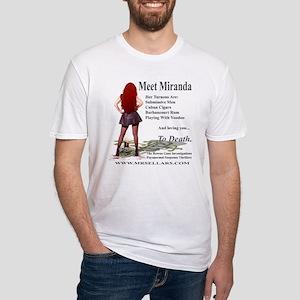 Miranda Logoed Apparel Fitted T-Shirt