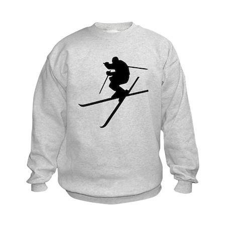 Skiing - Ski Freestyle Kids Sweatshirt