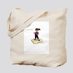 Do it with confidence (girl) Tote Bag