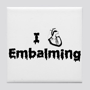 Embalming Tile Coaster