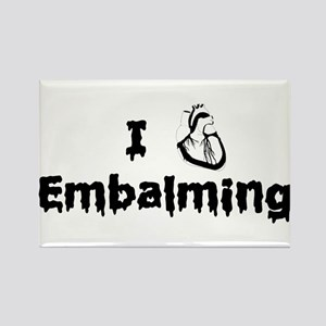 Embalming Rectangle Magnet