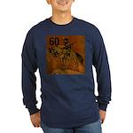 60th Birthday Long Sleeve Dark T-Shirt