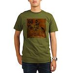 60th Birthday Organic Men's T-Shirt (dark)