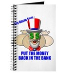 Put the Money Back Journal
