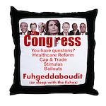 Fuhgeddaboudit Throw Pillow