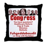Fuhgeddaboudit Throw Pillow