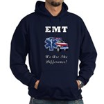 EMT We Are The Difference Hoodie (dark)