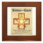 Sime~Gen Framed Tile