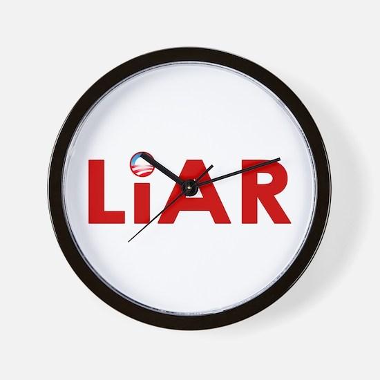 Obama's a Liar Wall Clock