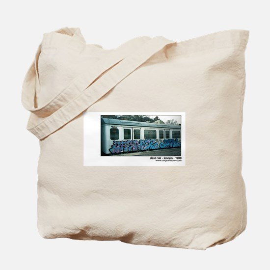 Dest Rok - London tube graffi Tote Bag