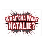 What Cha' Want Natalie? Postcards (Package of 8)