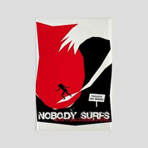 Nobody Surfs Like a California Girl Magnet