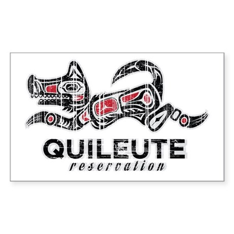 Quileute Reservation Sticker (Rectangle)